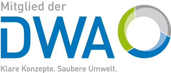 Mitglied der Deutsche Vereinigung für Wasserwirtschaft, Abwasser und Abfall e. V. (DWA)