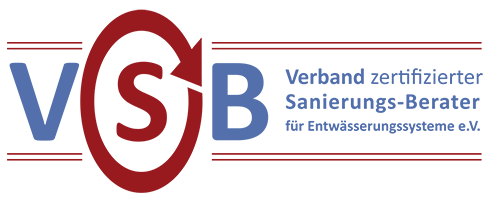 Verband zertifizierter Sanierungs-Berater für Entwässerungssysteme e.V. Logo